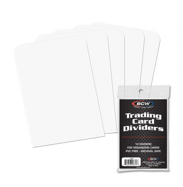 BCW Trading Card Dividers (10 pcs)