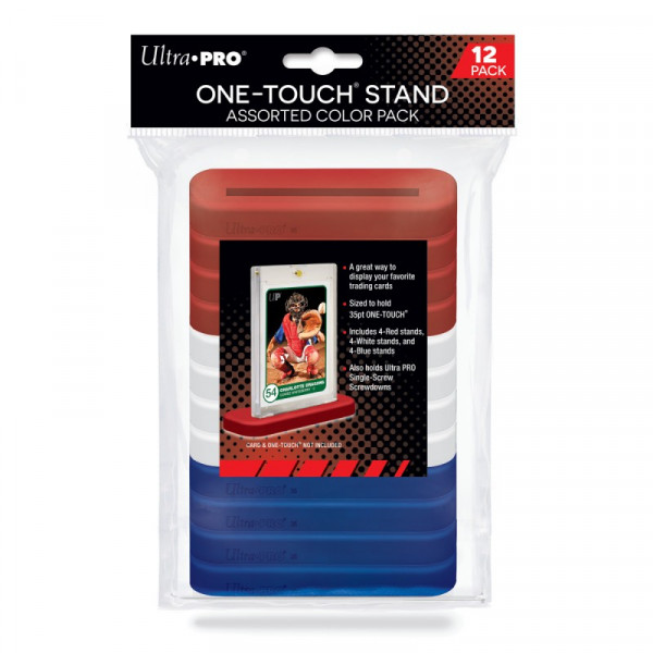 UP One Touch Stand 35pt Assorted Color 12-Pack