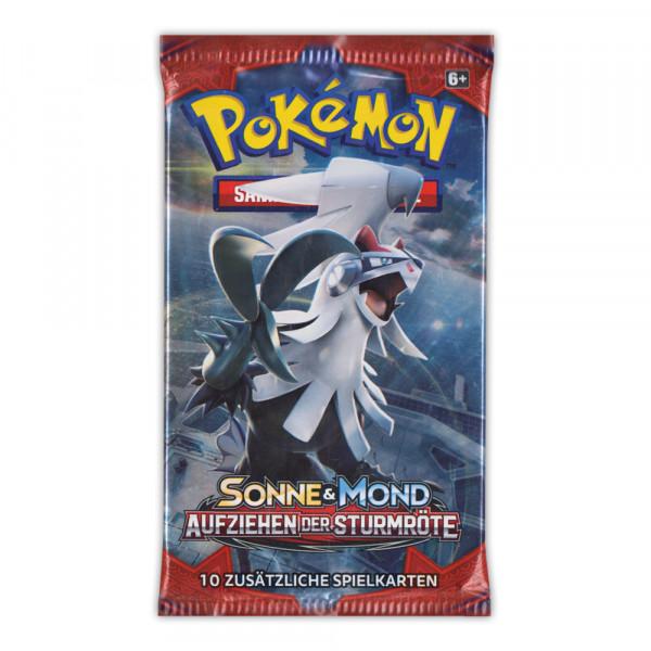 Pokémon Sonne & Mond - Aufziehen der Sturmröte Booster