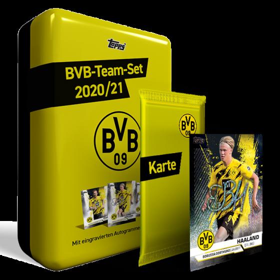BVB-Team-Set – Mit nummerierter Parallel-Karte gratis