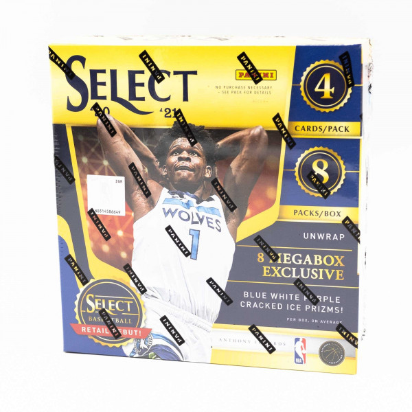2020/21 Panini Select Basketball Retail Mega Box NBA