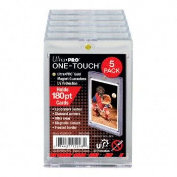 UP One Touch Card Holder 180pt (5-Pack)