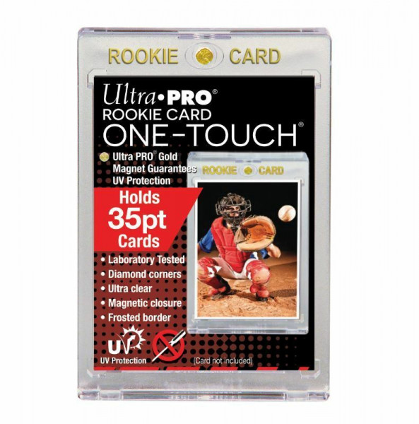 "UP One Touch Card Holder 35pt ""Rookie Card"""