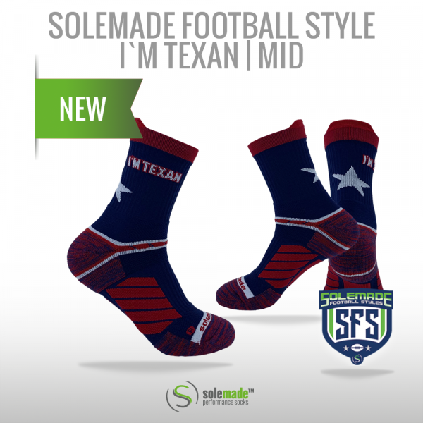 solemade Football Style I'm Texan / Mid