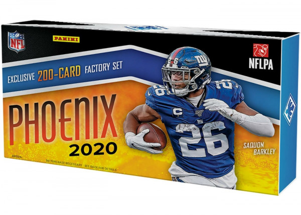 2020 Panini Phoenix Football Factory Set