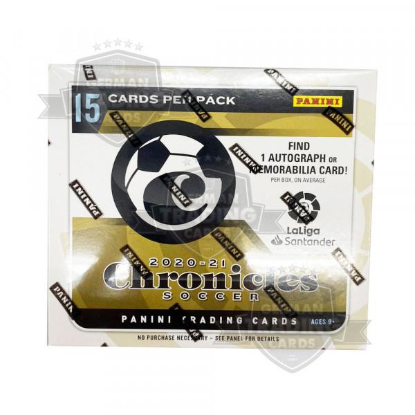 Panini Chronicles Soccer 2020/21 Fußball Mini Box La Liga