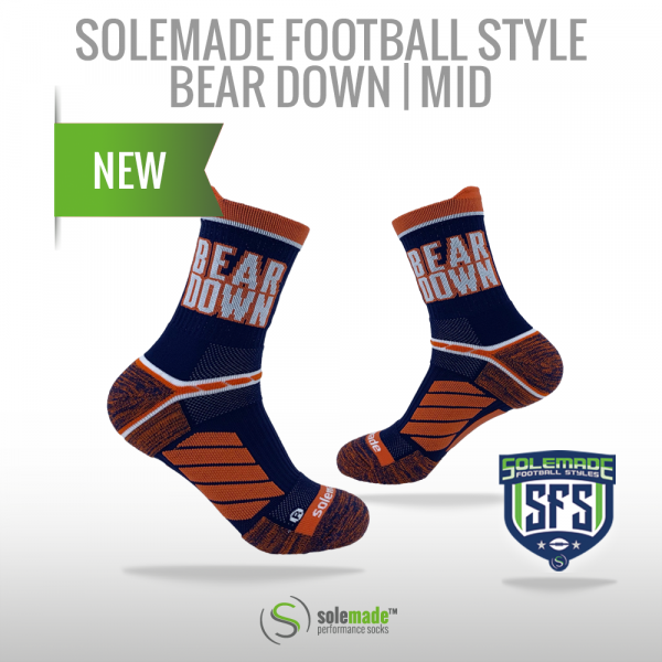 solemade Football Style Bear Down / Mid