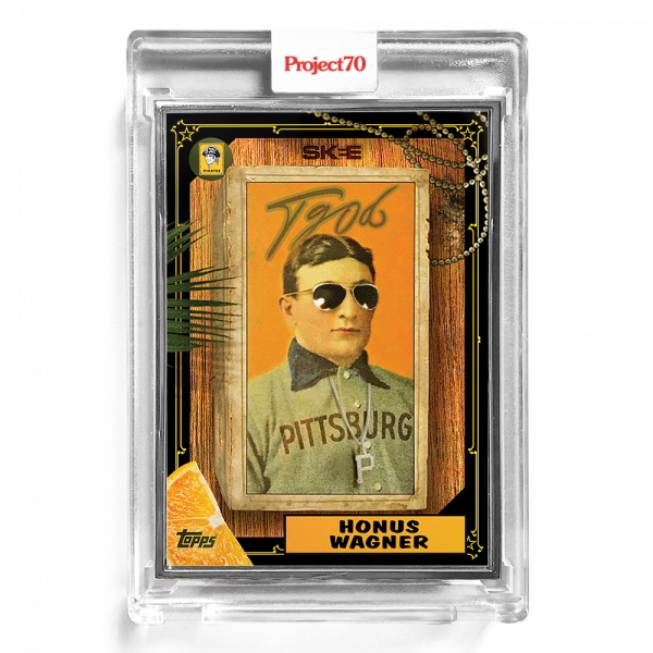 Topps Project70® Card 172 - 1987 Honus Wagner by DJ Skee