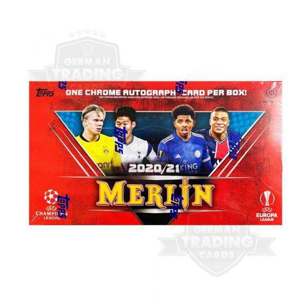 Topps Merlin Chrome 20/21 UEFA Champions League Hobby Box