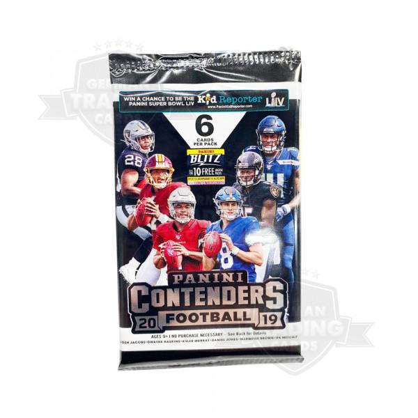 Panini Contenders Football 2019 NFL Hobby Pack