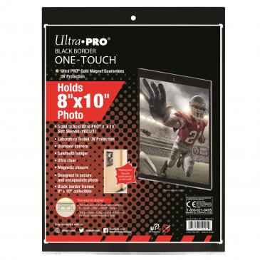 "Ultra Pro 8"" x 10"" Black Border UV ONE-TOUCH Magnetic Holder"
