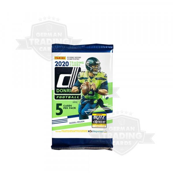 2020 Panini Donruss Football Retail Pack
