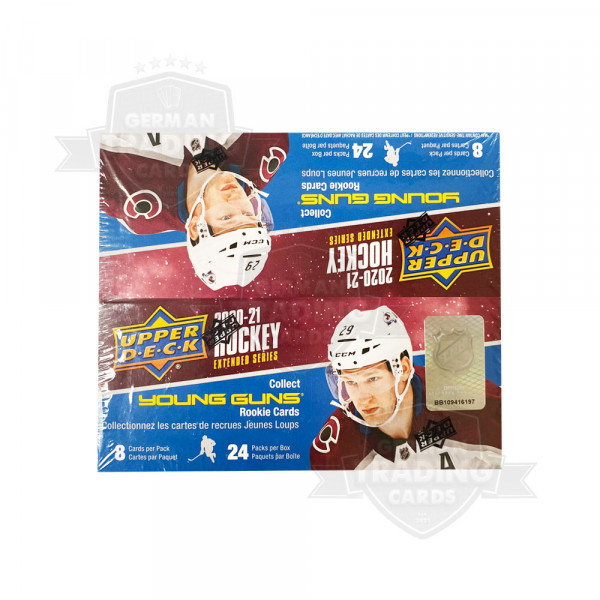 2020-21 Upper Deck Extended Series Hockey Retail 24-Pack Box