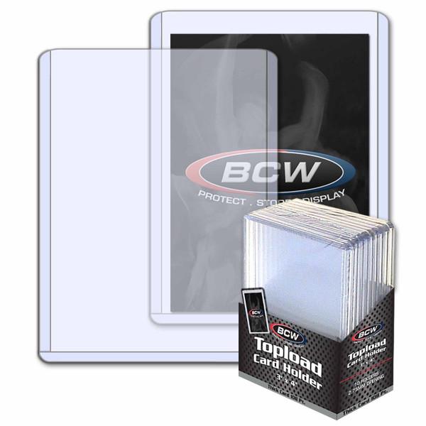 BCW Toploader 108pt (10 pcs)