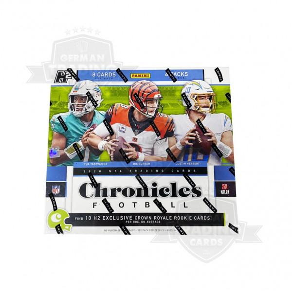 Panini Chronicles 2020 Football NFL Hybrid Box