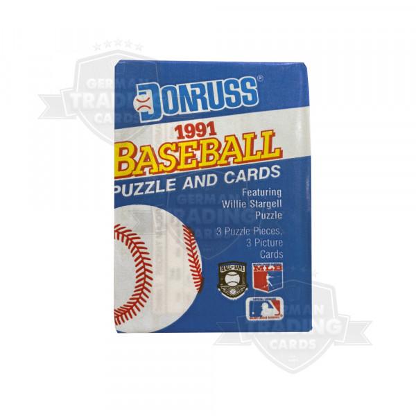Donruss Baseball 1991 Puzzle Cards