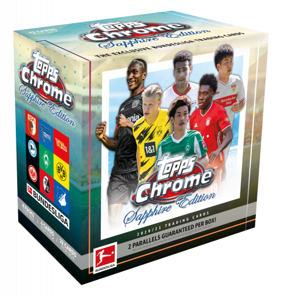 Topps Chrome Bundesliga Sapphire 2020-2021 Hobby Box
