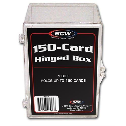 BCW Plastikkasten für 150 Karten (Hinged Box)
