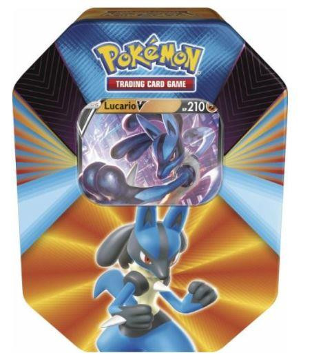 Pokémon Cards Kräfte Tin Box #92 Lucario - Deutsch