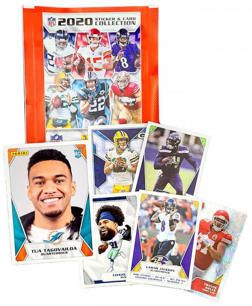 NFL Sticker Collection 2020 - Pack