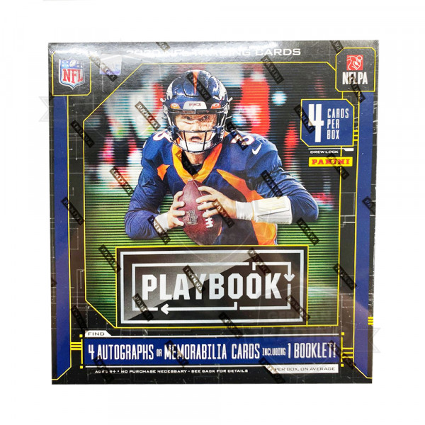 Panini Playbook 2020 Football NFL Hobby Box