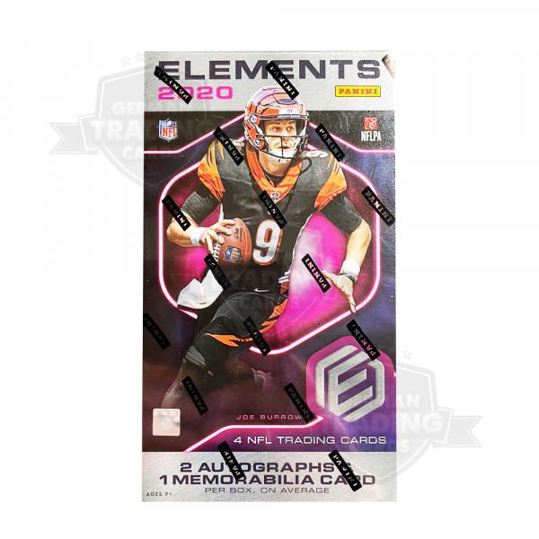 Panini Elements 2020 Football NFL Hobby Box