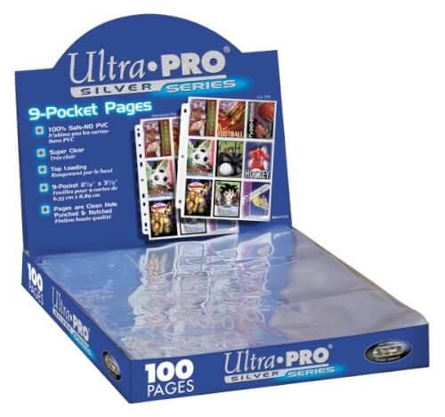 Ultra Pro 9 Pocket Silver Series Hüllen