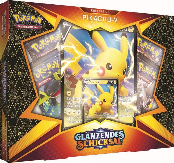 Pokémon Glänzendes Schicksal Pikachu V Box