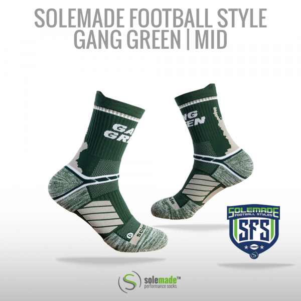 solemade Football Style Gang Green / Mid