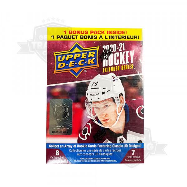 2020-21 Upper Deck Extended Series Hockey Blaster Box