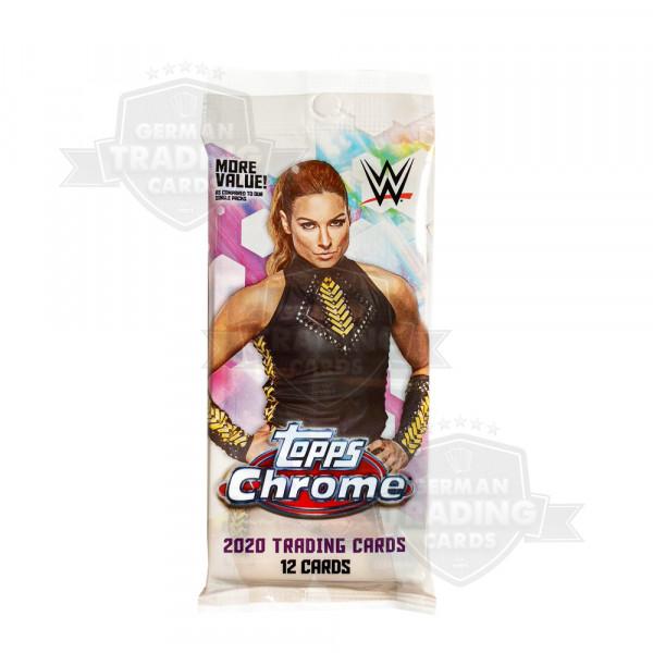 2020 Topps WWE Chrome Wrestling Fatpack