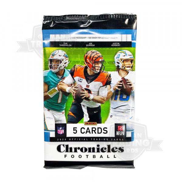 Panini Chronicles 2020 NFL Blaster Pack