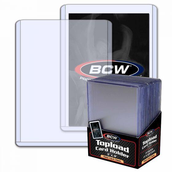 BCW Toploader 59pt (25 pcs) Case (40 Stück)