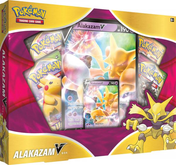 Pokemon Alakazam V Box EN - Simsala