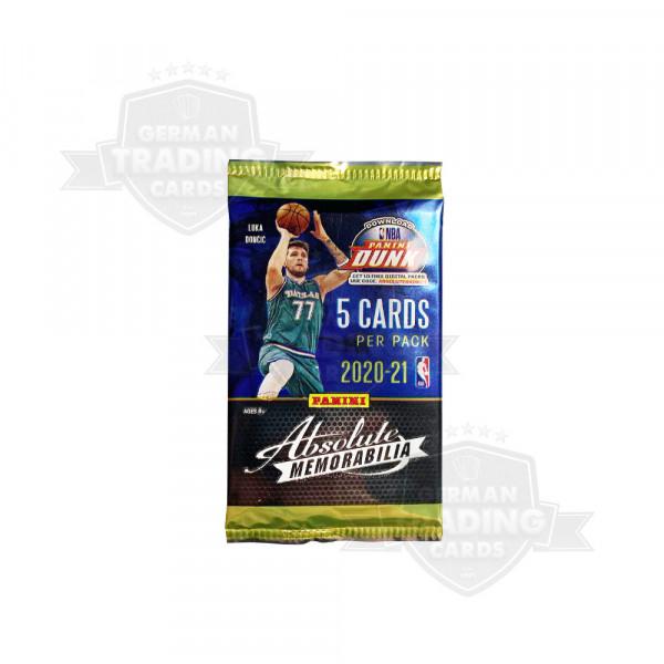 2020-21 Panini Absolute Memorabilia Basketball Retail Pack