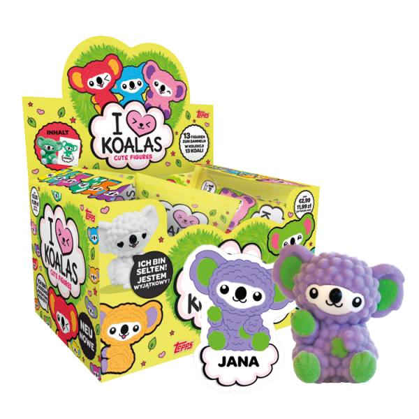 I Love Koalas - Display mit 12 Stück