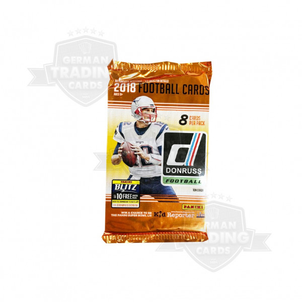 Panini 2018 Donruss Football NFL Retail Pack