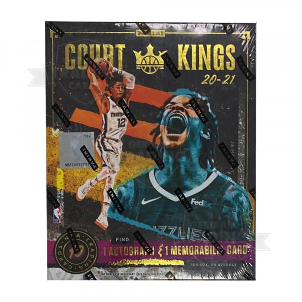 Panini Court Kings 2020-21 Basketball NBA Hobby Box