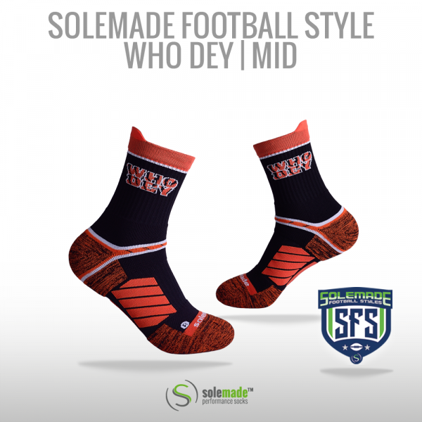 solemade Football Style Who Dey / Mid