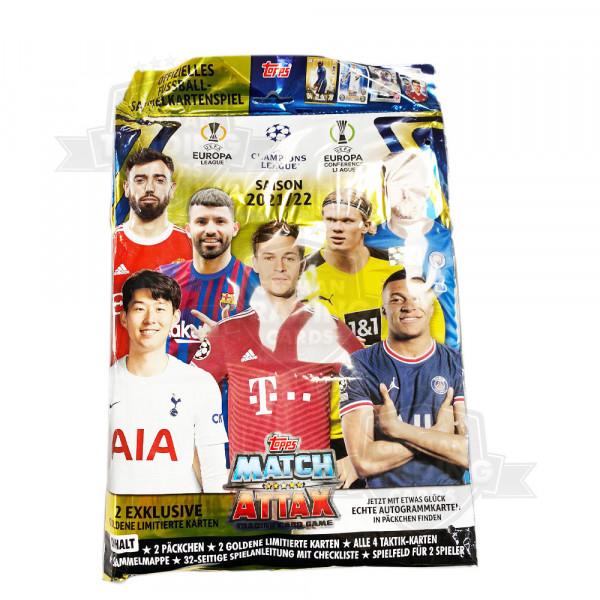 Topps Champions League Match Attax 2021/22 - Starterpack