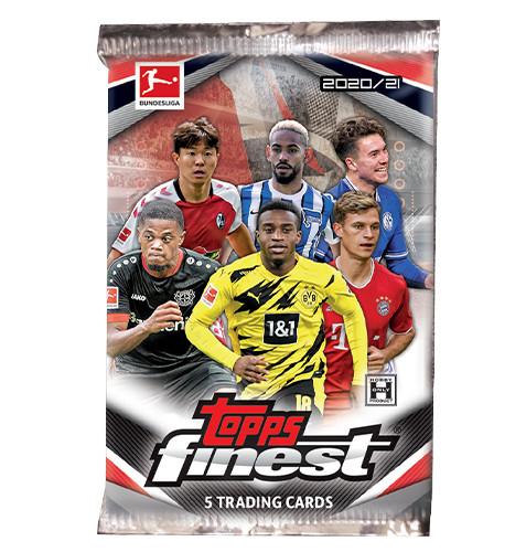 Topps Finest Bundesliga 2020-2021 Hobby Pack
