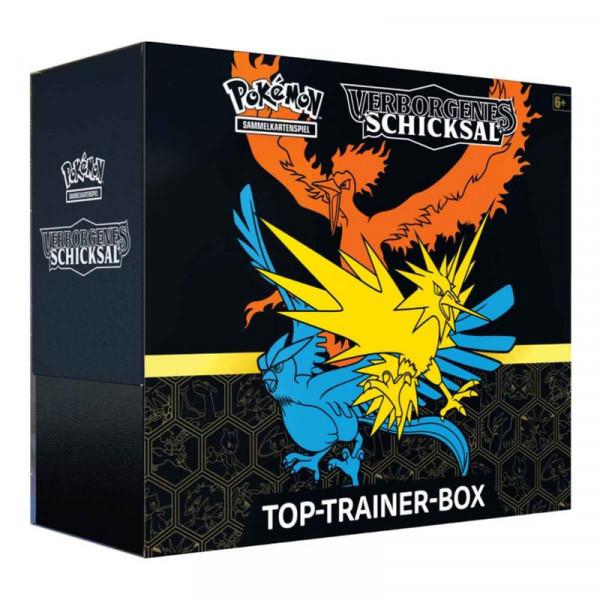 Pokémon Cards SM11.5 Top-Trainer Box - Verborgenes Schicksal - DE