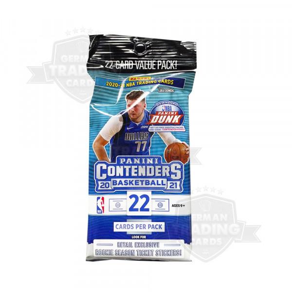 Panini Contenders NBA 2020/21 Basketball Retail Fat Pack