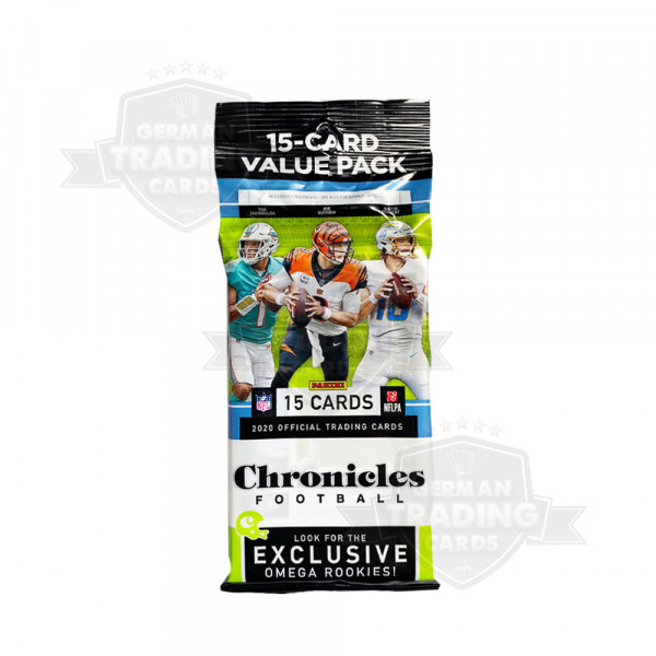 Panini Chronicles Football 2021 Cello Value Pack
