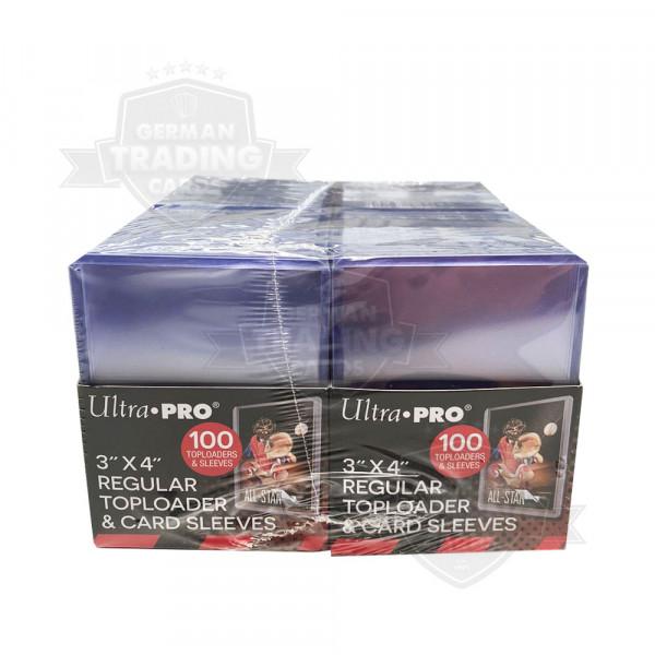 """Ultra Pro Regular Toploader 3"""" x 4"""" 35PT (200 Schutzhüllen) + 200 Sleeves"""