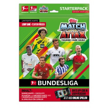 Bundesliga Match Attax 20/21 Starterpack