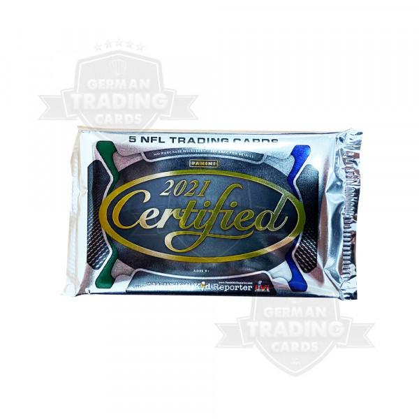 2021 Certified Football Hobby Pack