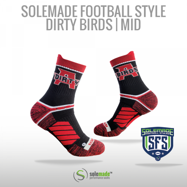 solemade Football Style Dirty Birds / Mid