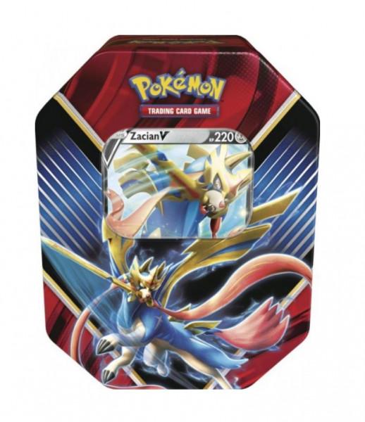Pokémon Cards Tin Box #85 Zacian - Deutsch