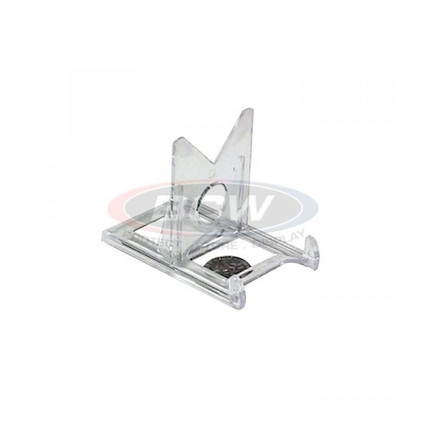 BCW Card Stands 2-Piece Clear Adjustable